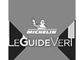 Logo guide vert Michelin