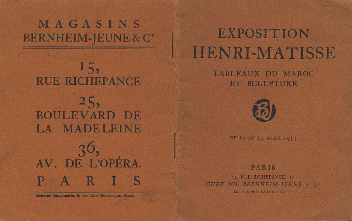 1913 Bernheim Paris Couverture