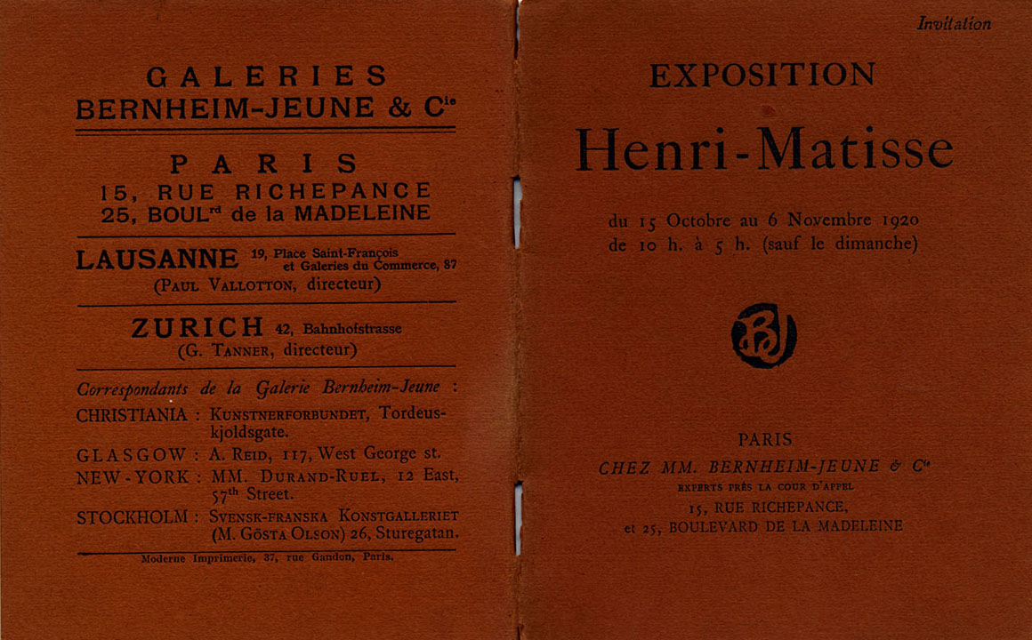 1920 Bernheim Paris - couverture