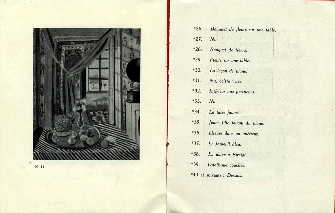 1924 Bernheim Paris - Page interieure