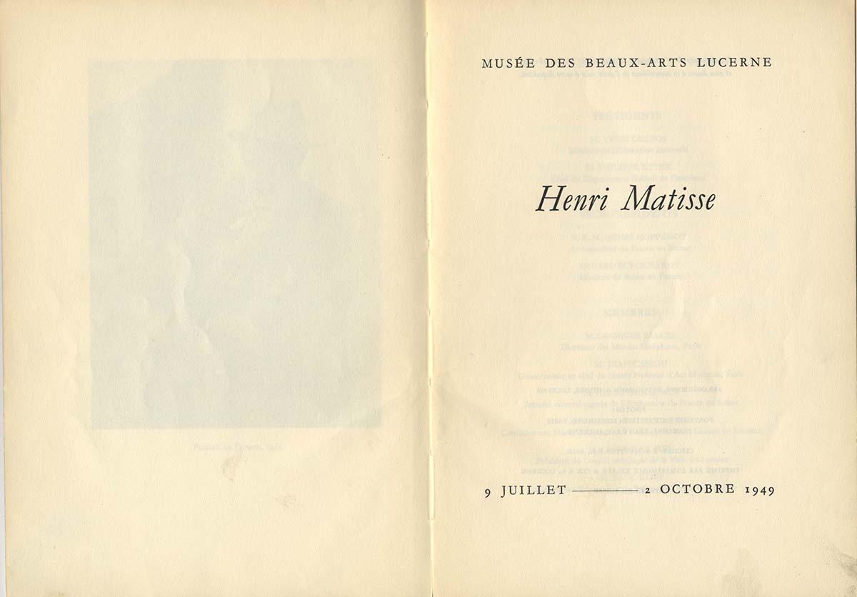 1949 Lucerne - page interieure
