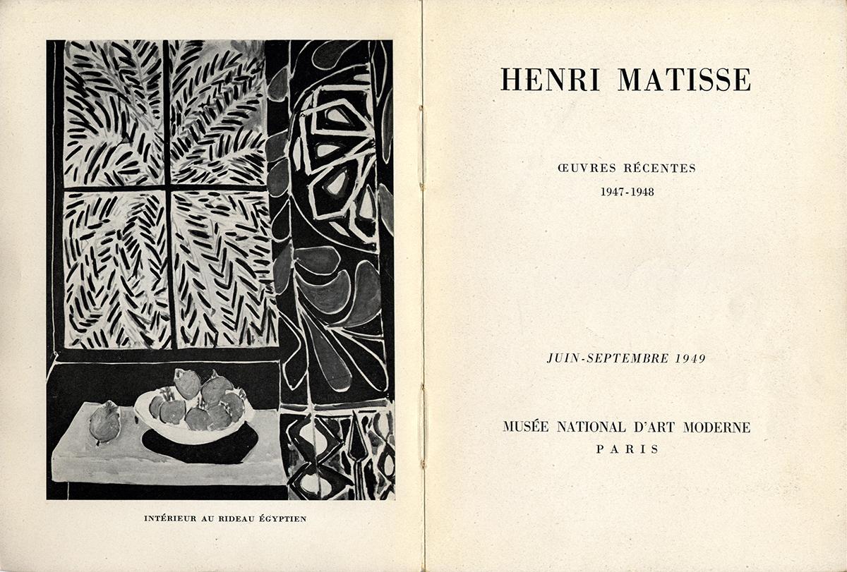 1949 MNAM Paris - page interieure