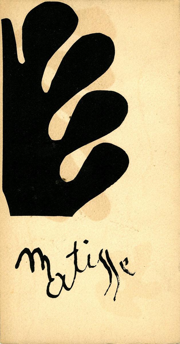 1954 Berggruen Paris - couverture verso
