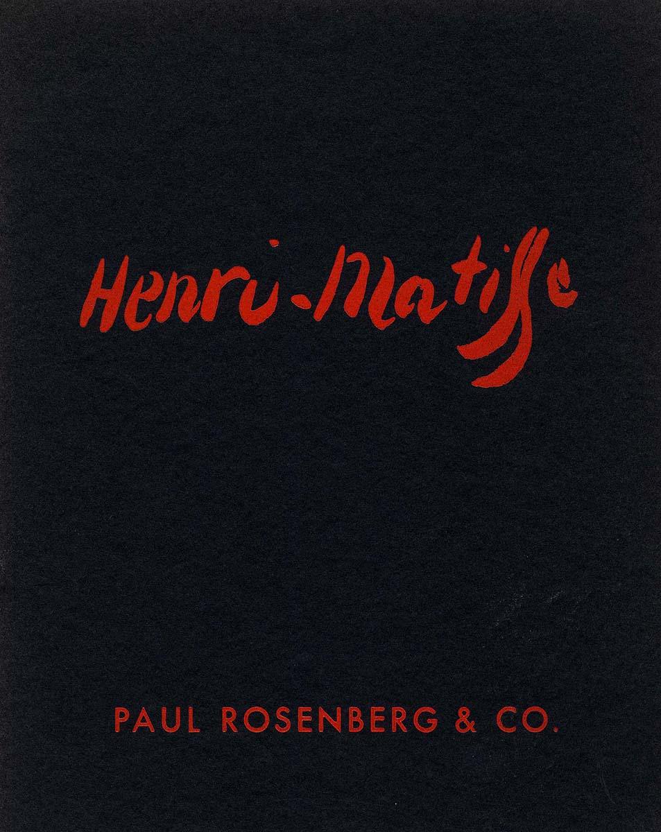 1954 Rosenberg New-York - couverture