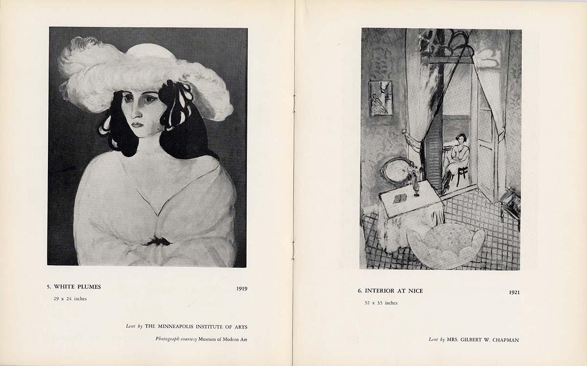 1954 Rosenberg New-York - page interieure