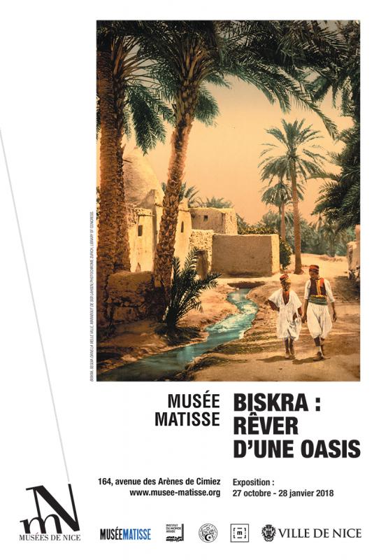 Affiche de l'exposition Biskra : rêver d'une oasis