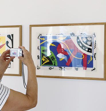 Extrait d'un tableau du musée Matisse de Nice