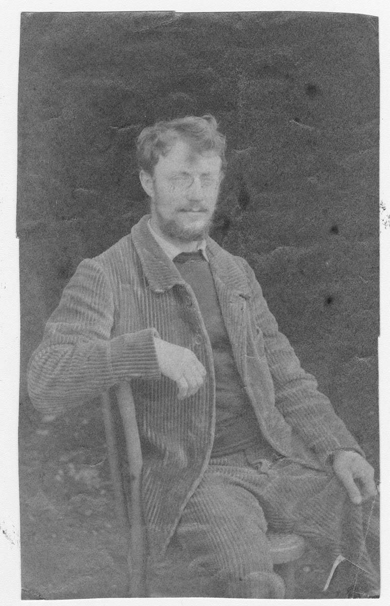 """Portrait de """"Henri Matisse en Bretagne"""", 1896"""