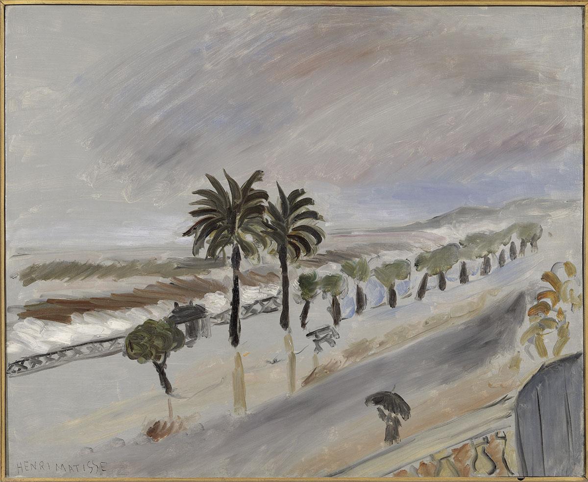 """""""Tempête à Nice"""", Nice, 1919-1920, huile sur toile"""
