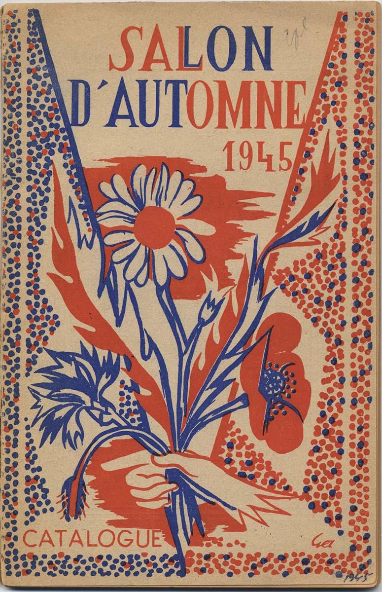 Couverture du catalogue d'exposition : Salon d'automne de 1945