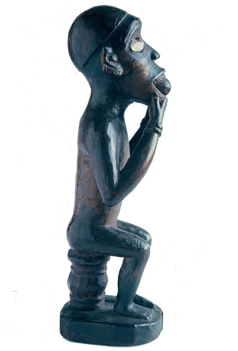 """""""Statuette Vili"""", Congo, ancienne collection Henri Matisse"""
