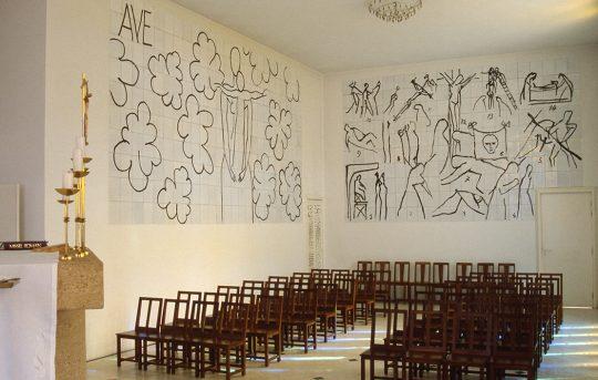 Intérieur de la chapelle de Vence