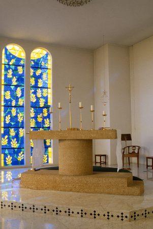 L'autel et l'Arbre de vie, Chapelle du Rosaire, Vence