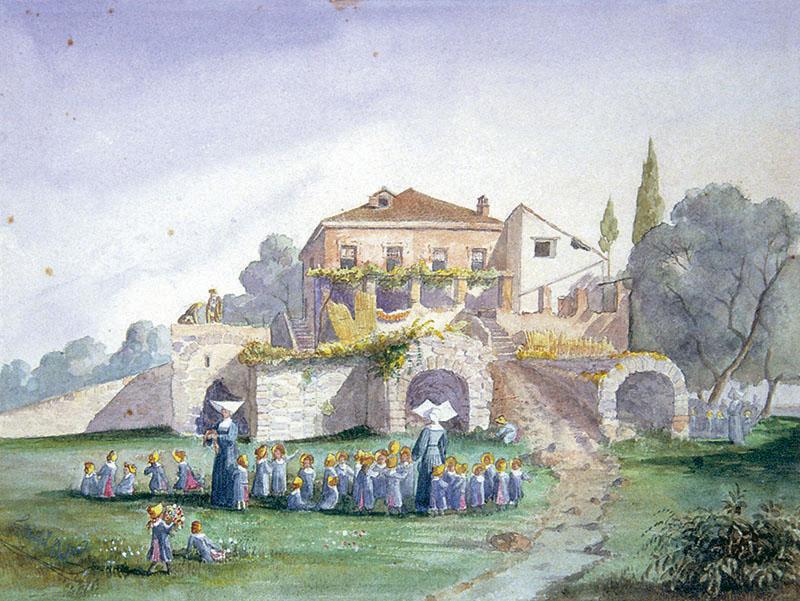 Antoine Trachel Promenade des orphelins Cimiez