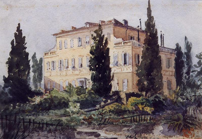 Urbain Garin de Cocconato Villa 1890