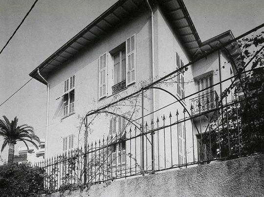 Villa des Alliés, 138 boulevard du Mont-Boron, Nice