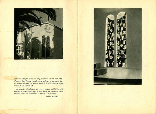 L'art sacré, n°11-12, juillet-août 195, Lettre à Monseigneur Rémond, évêque de Nice