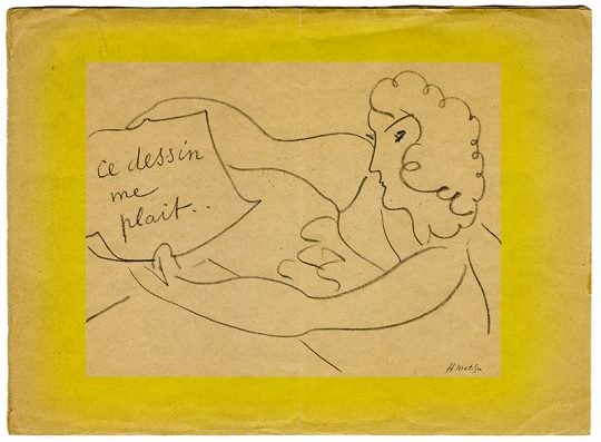 Couverture du catalogue d'exposition Henri Matisse, Nice, Palais de la Méditerranée, 1946