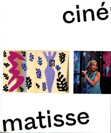 Couverture du catalogue de l'exposition Cinématisse
