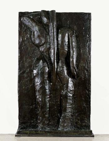 Dos III, Issy-les-Moulineaux, 1916-1917, bronze, fonte à la cire perdue, patine brune