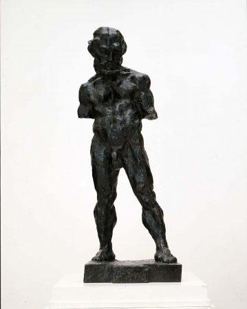 Le serf, Paris, 1900-1903, bronze, fonte à la cire perdue, patine foncée