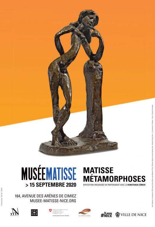 Affiche de l'exposition Matisse Métamorphoses
