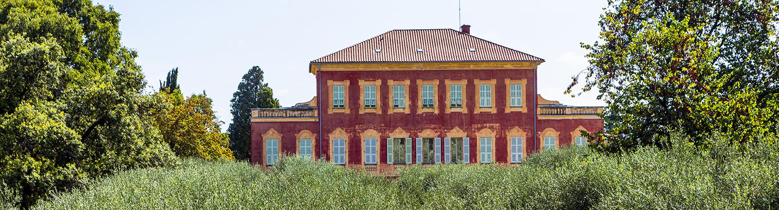 Vue de la villa des arènes d'Henri Matisse