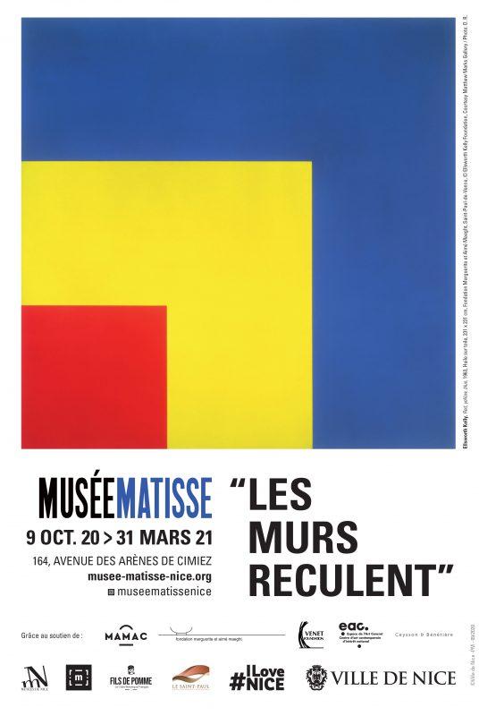 Affiche de l'exposition : Les murs reculent