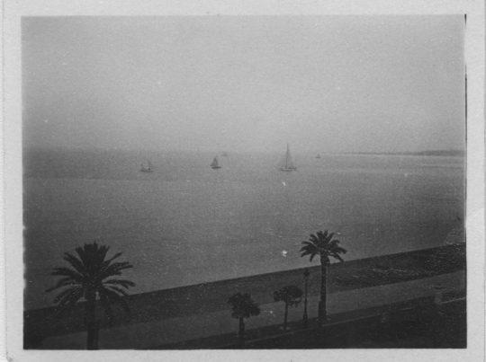 La Promenade des Anglais vue depuis l'appartement d'Henri Matisse Nice, 1928