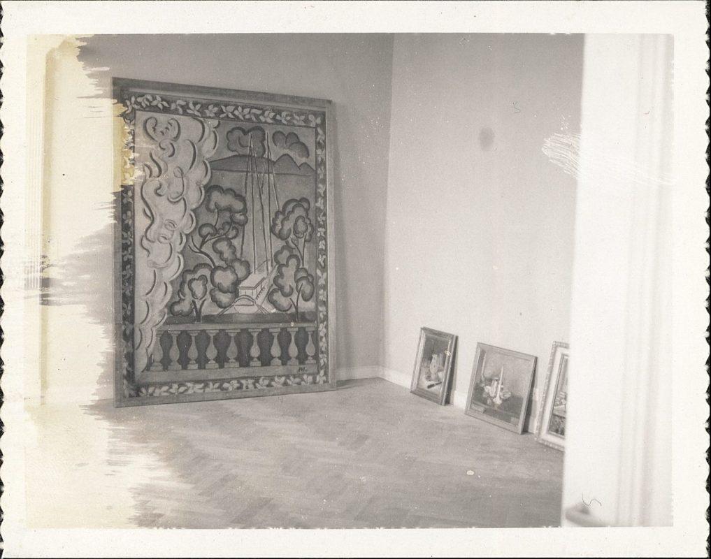 Installation des œuvres au Musée Matisse, 1962-1963