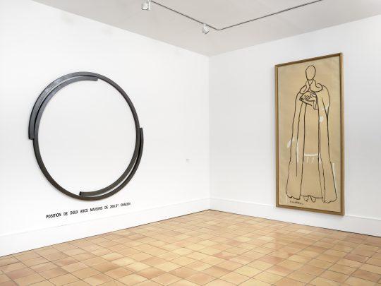 """Musée Matisse """"Les Murs reculent"""" vue exposition de Henri Matisse, Saint Dominique – Chapelle de Vence, 1949"""
