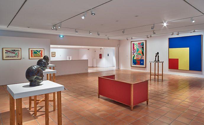 """Musée Matisse """"Les Murs reculent"""" - vue exposition"""