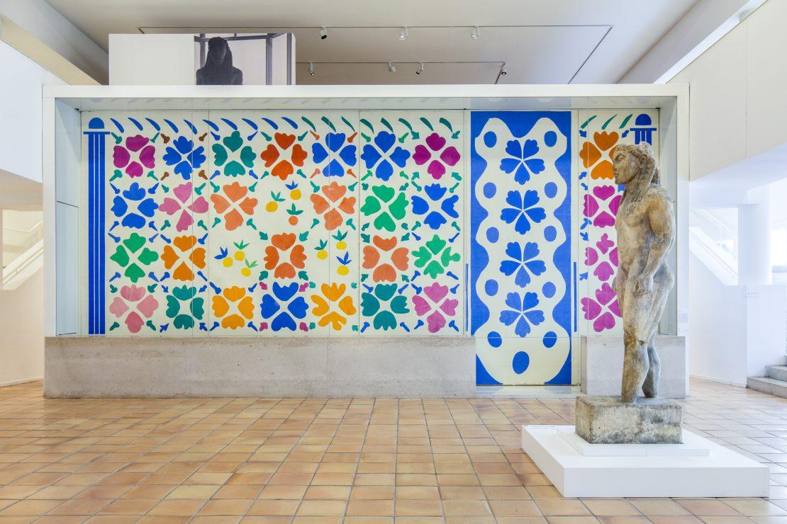 Hall du musée - Fleurs et Fruits