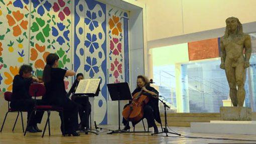 Photo de musiciens en train de jouer